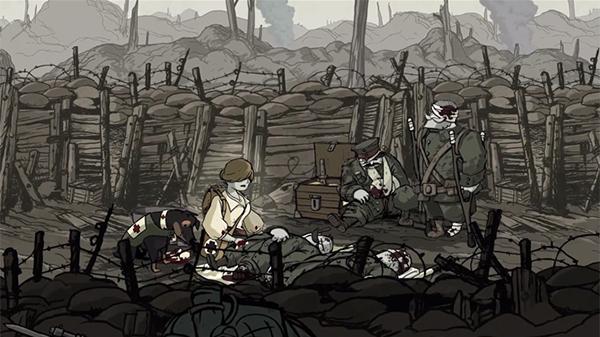 アンナと塹壕