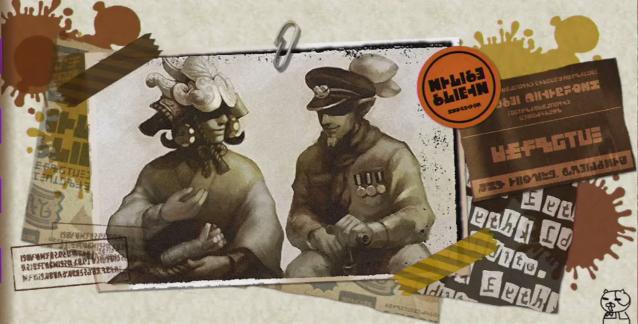 アタリメ司令とタコワサ将軍