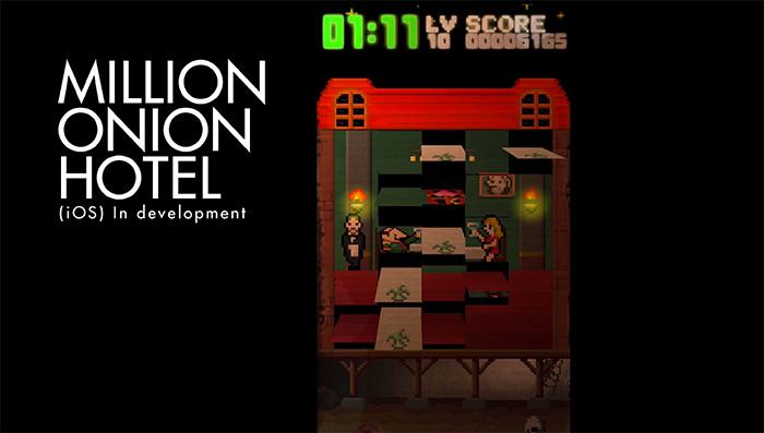 オニオンゲームスが開発中のiOS専用のゲームアプリ「ミリオン オニオン ホテル」