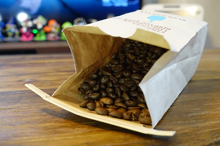 シングルオリジンの豆の中でも、アイスコーヒーにオススメだと言われて購入したエチオピア。