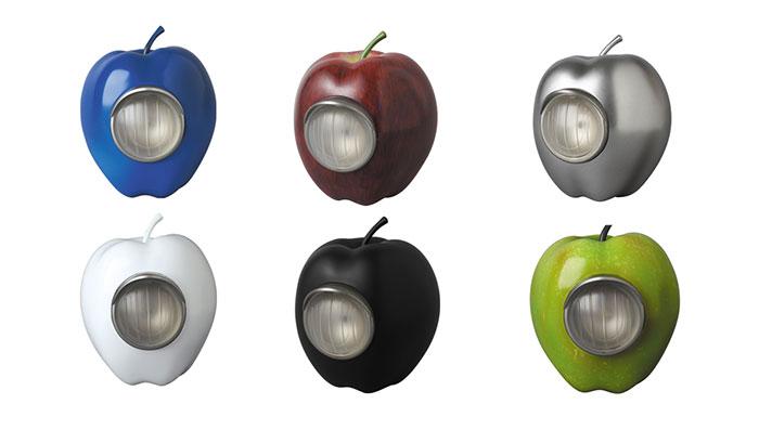 元になったリンゴ型ライトGILAPPLE