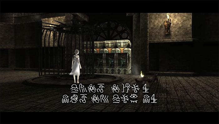 PS3版ICO。言葉の通じない、幻想的な少女「ヨルダ」