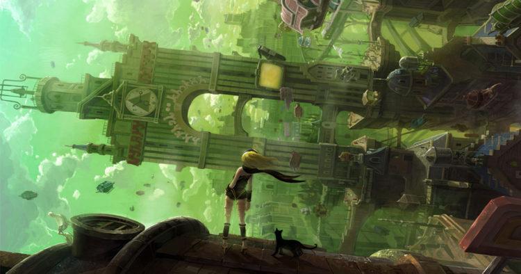 【レビュー】PS4版「グラビティデイズ」重力を操作して町人を助ける、魔女の宅急便ゲー!アクションはあと一歩