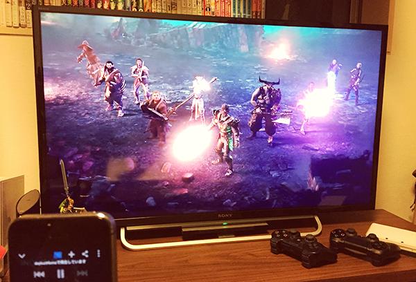 ChromecastでゲームのPV