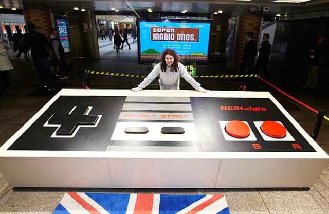世界一巨大なゲームコントローラー